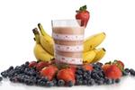 Et eksempel på en sund og lækker snack